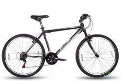 Велосипед 26'' PRIDE XC-1.0 - 21 черно-белый матовый 2016