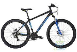 Велосипед 27,5 Apollo Aspire 20 рама - XL Matte Black/Matte Blue/Matte Lime 2017