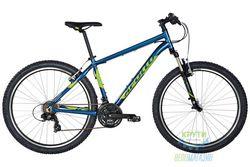 Велосипед 27,5 Apollo Aspire 10 рама - M Gloss Navy Blue/Gloss Lime 2017