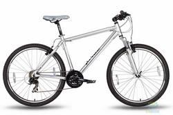 Велосипед 26'' PRIDE XC-2.0 - 19 серо-черный матовый 2016
