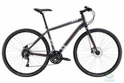 Велосипед 28 Apollo Trace 30 рама - L Matte Charcoal/Matte Silver/Matte Orange 2017