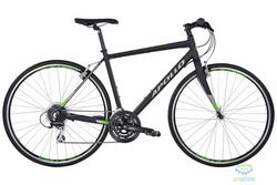 Велосипед 28 Apollo Exceed 20 рама - L Matte Black/Matte Silver/Matte Green 2017