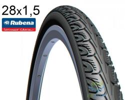 Покрышка 28 х 1.1/2 (40-635) RUBENA HOOK V69 Classic черн.