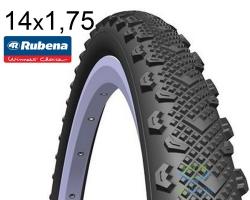 Покрышка 14x1.75 (47x254) MITAS (RUBENA) WINNER V45 Classic черная