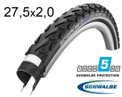 Покрышка 27.5x2.00 650B (50-584) Schwalbe LAND CRUISER PLUS PunctureGuard HS450 B/B+RT SBC