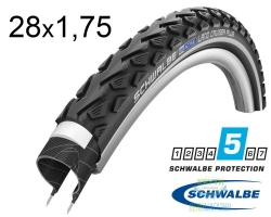 Покрышка 28x1.75 (47-622) Schwalbe LAND CRUISER PLUS HS450 B/B+RT SBC, 50EPI