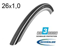 Покрышка 28x1.00 (25x622) Schwalbe LUGANO K-Guard HS471 B/WS/B-SK SiC
