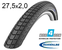 Покрышка 27.5x2.00 (50-584) Schwalbe BIG BEN RaceGuard B/B-SK+RT EC 67EPI