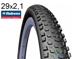 Покрышка 29x2.1 (54x622) RUBENA OCELOT V85 Classic черно-серая