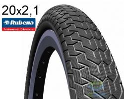 Покрышка 20 х 2.10 MITAS (RUBENA) ZIRRA R V88 Classic Max черн.