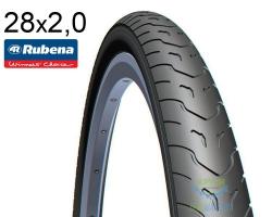 Покрышка 28х2.00 (52х622) MITAS (RUBENA) COBRA V58 Classic черная