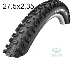 Покрышка 27.5x2.35-650B (60x584) Schwalbe TOUGH TOM K-Guard HS411 B/B-SK