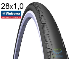 Покрышка 700x25C (25-622) MITAS (RUBENA) SYRINX V80 Classic черная