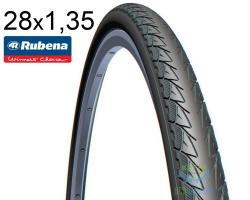 Покрышка 28х1.35 (700x35C) RUBENA FLIPPER V70 Classic черн.
