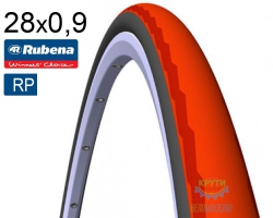 Покрышка 700 x23C RUBENA PHOENIX R01 (23-622) Racing Pro черн./красн.