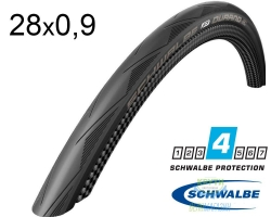 Покрышка 700х23С Schwalbe DURANO RaceGuard, Folding 23-622 B/B-SK