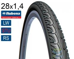 Покрышка 700 x35C RUBENA HOOK V69 (37-622) Classic (LW)(STU)(RS) черн.