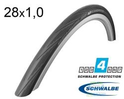 Покрышка 28x1.00 (25x622) Schwalbe LUGANO K-Guard Folding HS471 B/B-SK SiC IB
