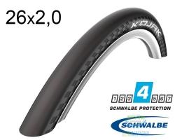 Покрышка 26x2.00 (50-559) Schwalbe KOJAK RaceGuard B/B-SK+RLA HS385 SpC 67EPI