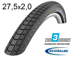 Покрышка 27,5х2.00 (50-584) Schwalbe BIG BEN K-Guard B/B HS439, SBC