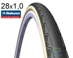 Покрышка 700х25С RUBENA SYRINX V80 Classic черно-бежевый