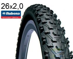 Покрышка 26x2.00 (52x559) MITAS (RUBENA) CHARYBDIS V76 Classic черная