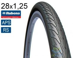 Покрышка 28x1 1/4x1 3/4 (32x622) MITAS (RUBENA) Flash V66 Classic (APS)+(RS) черная