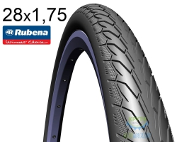 Покрышка 28x1.75х2 (47x622) MITAS (RUBENA) Flash V66 Classic черная