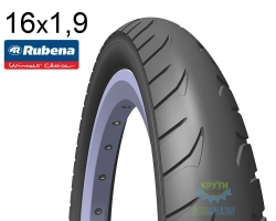Покрышка 16x1.90 (50x305) MITAS (RUBENA) GOLF V63 Pre Classic 22