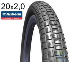 Покрышка 20x2.00 (52x406) MITAS (RUBENA) NITRO V89 Radical Ride черная