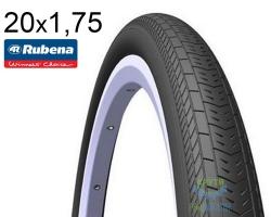 Покрышка 20x1.75*2 (47x406) MITAS (RUBENA) SPEEDO LT R04 Classic черная