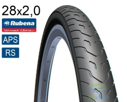 Покрышка 28 x 2.0 (52x622) MITAS (RUBENA) COBRA V58 (APS)+(RS) светоотражающая