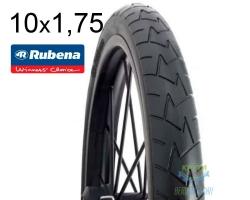 Покрышка 10 x 1.75*2 (47x152) RUBENA COMFORT V57 Pre Classic черн.