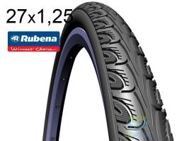 Покрышка 27 x 1.1/4 (32x630) RUBENA HOOK V69 Classic черн.
