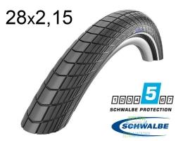 Покрышка 28x2.15 (55-622) Schwalbe BIG APPLE HS430 RaceGuard B/B-SK+RT EC 67EPI