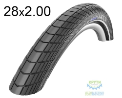 Покрышка 28x2.00 (50-622) Schwalbe BIG APPLE PLUS HS430 G-Guard B/B+RT EC, 67EPI