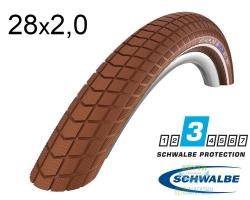 Покрышка 28x2.00 (50-622) Schwalbe BIG BEN HS439 K-Guard BN/BN+RT SBC, 50EPI