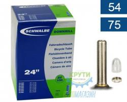 Камера 24 (54/75x507) Schwalbe AV10D 40мм DOWNHILL EK