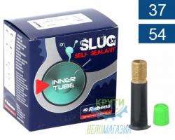 Камера 28+29 x 1.75 (37/54x622/635) a/v 35мм  RUBENA Slug self sealant BSC, гель, коробк