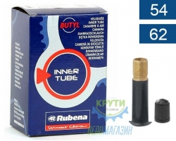 Камера 16 x 2.10-2.50 (54/62x305) AV 35мм MITAS (RUBENA) Classic K10 BSC 0,9 mm, короб