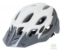Шлем Green Cycle Enduro размер 58-61см бело-серый