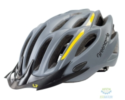 Шлем Green Cycle Rock размер 54-58см серо-оранжевый