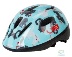 Шлем детский Green Cycle Kitty размер 50-54см мятный