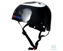 Шлем детский Kiddimoto бильярдный шар, чёрный, размер M 53-58см