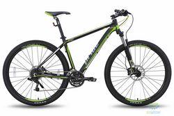 """Велосипед 29"""" PRIDE XC-29 HD черно-зеленый матовый 2015"""