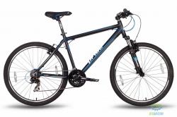 Велосипед 26'' PRIDE XC-2.0 - 17 черно-синий матовый 2016