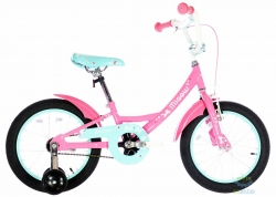 Велосипед 16&quot Pride Miaow Розово/мятный Лак 2017