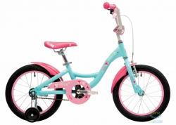 Велосипед 16 Pride Alice мятный/розовый/малиновый 2018