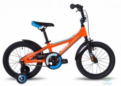 Велосипед 16 Pride Tiger оранжевый/голубой/белый 2018