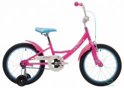 Велосипед 18 Pride Mia малиновый/белый/голубой 2018